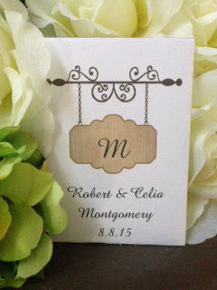 Monogram Seed Packets - Favor Universe