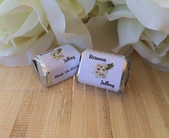Cala Lily Wedding Candy Wrappers - Favor Universe