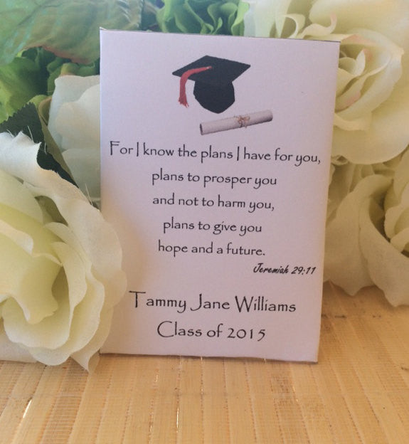 Graduation Seed Packets - Favor Universe