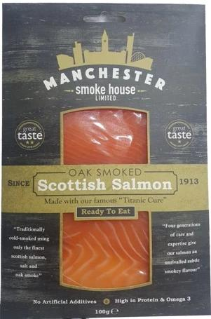 Sliced Smoked Scottish Salmon 100g