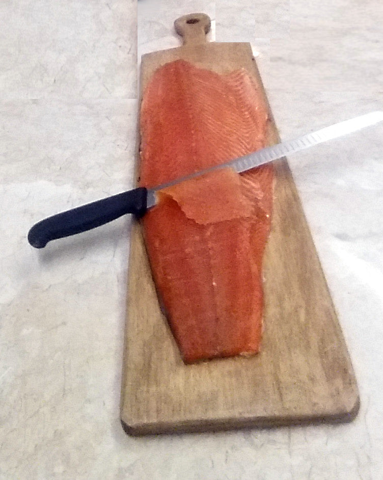 Whole large Side of Smoked Scottish Salmon