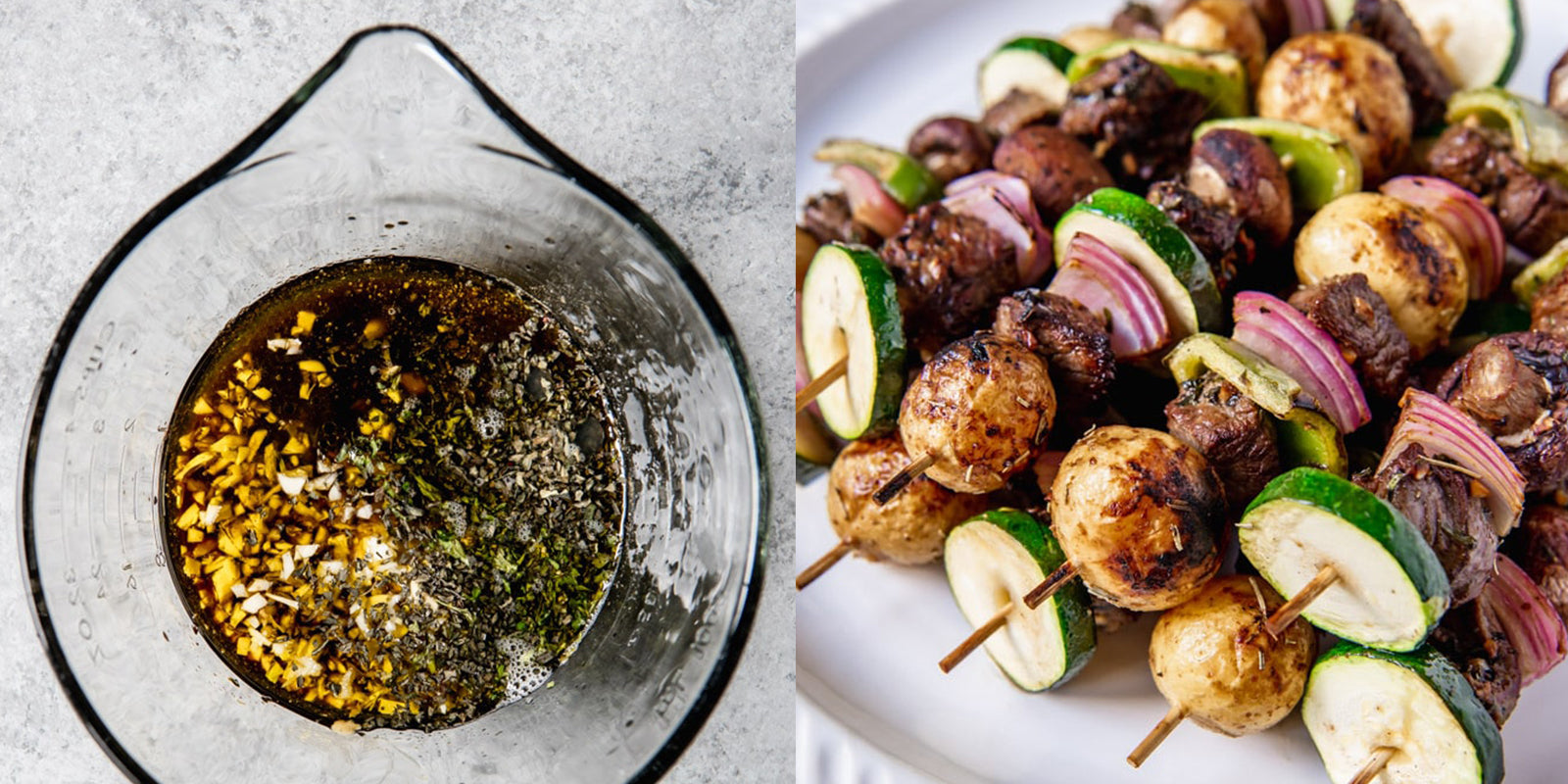 Best recipes for marinating meat: beef kabobs