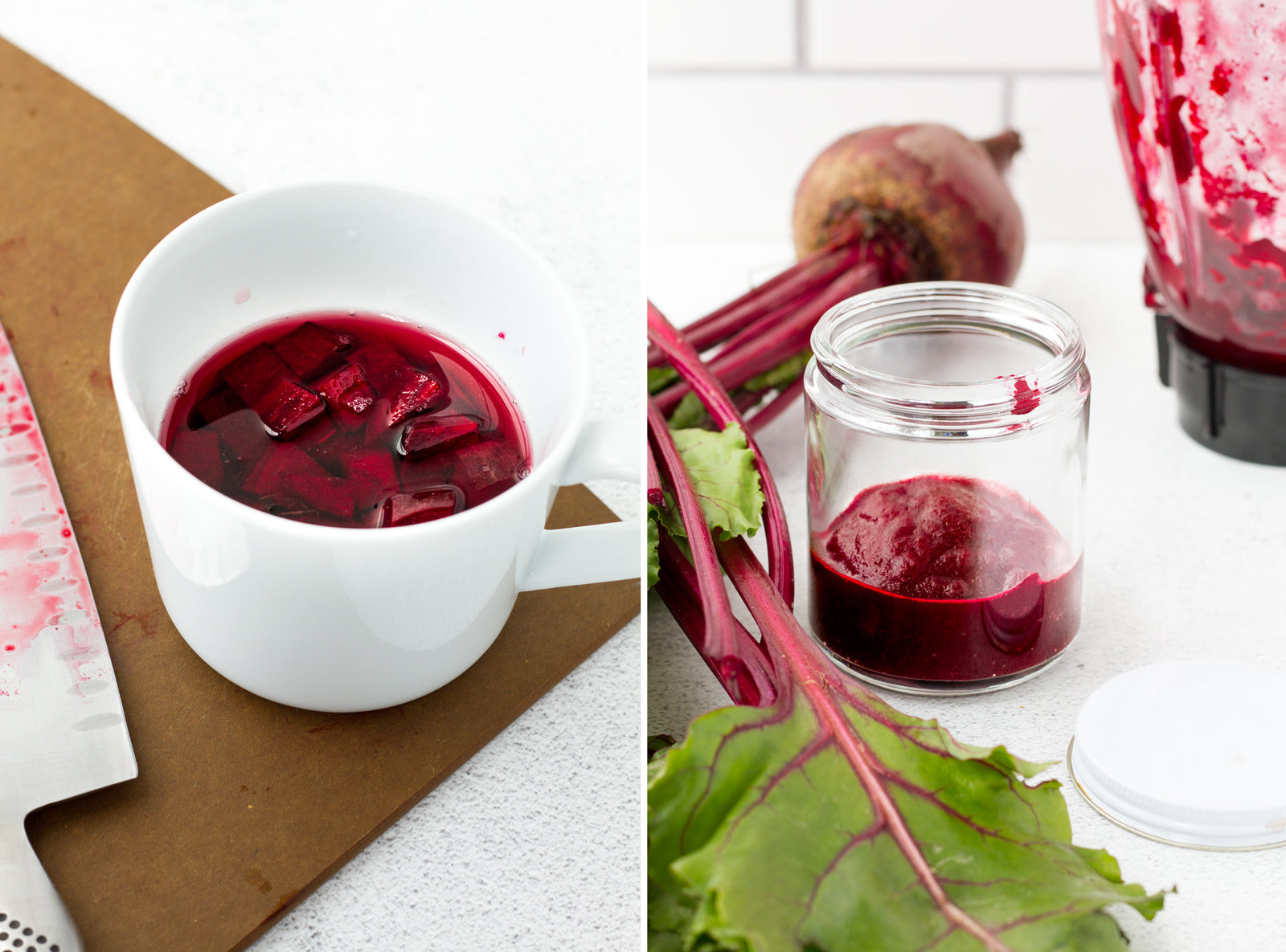 Beet Puree for Natural Red Food Coloring