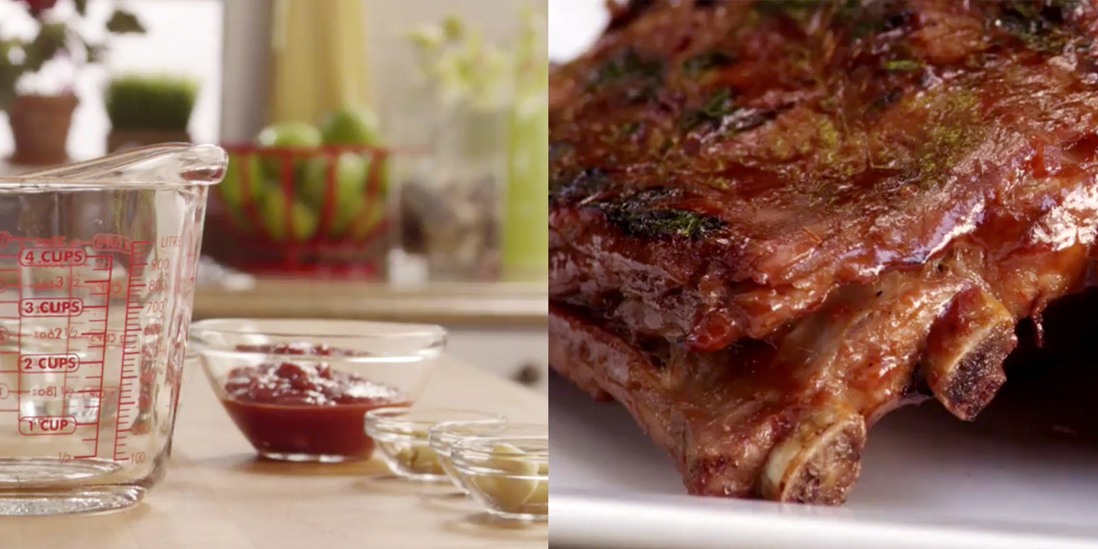 best recipes for marinating meat - classic barbecue ribs