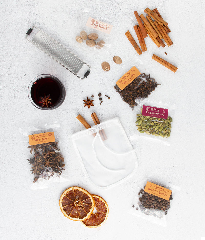 Mulled Wine Spices Cocktail Kit - Cooking Gift Set Co