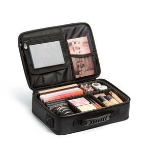 Medium Cosmetic Travel Case: Black