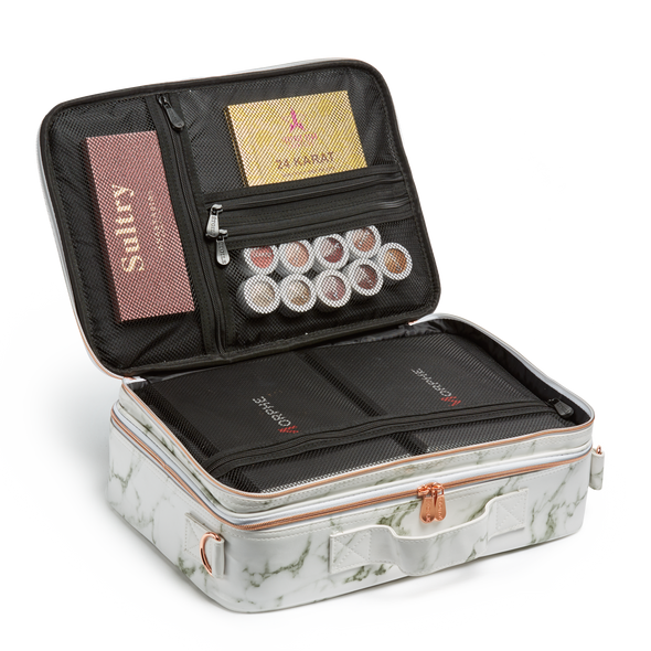 Marble Cosmetic Travel Case LG