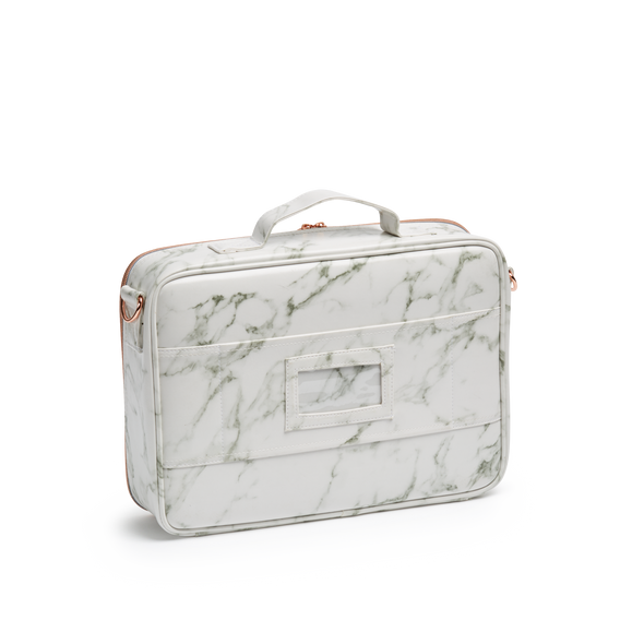 Marble Cosmetic Travel Case MED