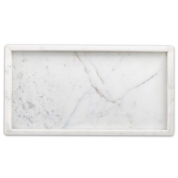 Rectangular LG Marble Tray - Étoile Collective