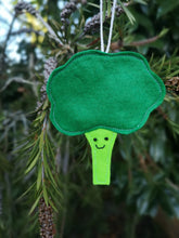 Load image into Gallery viewer, Broccoli christmas tree decoration | vegetable Christmas tree decorations