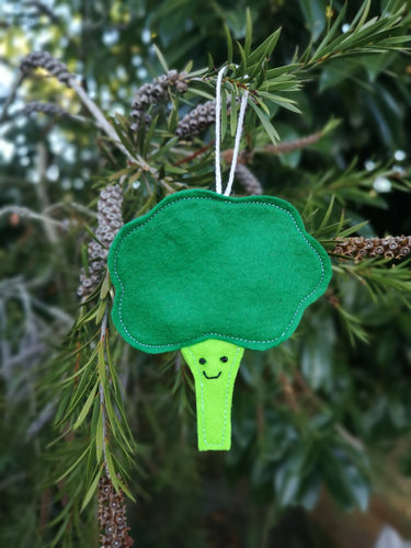 Broccoli christmas tree decoration | vegetable Christmas tree decorations