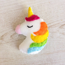 Load image into Gallery viewer, Magical pocket unicorn positive gift that can be personalised | 'You are magic' friendship gift