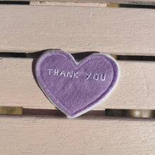 Load image into Gallery viewer, Thank you pocket love, with white trim