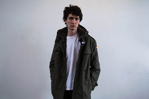 60s German Army Parka Jacket