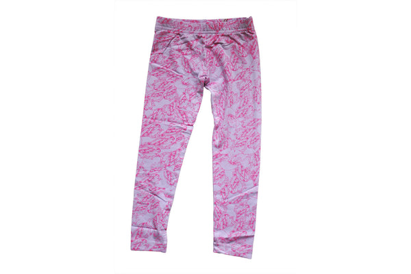 "DOODLEBUG Girl Leggings - ""Hipster Lilac"""