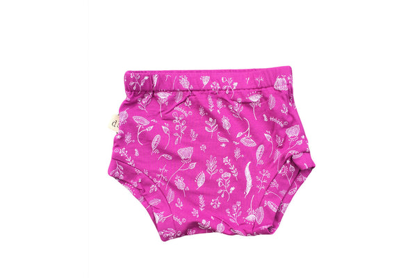 "DOODLEBUG Baby Shorties - ""Magenta Flowers"""