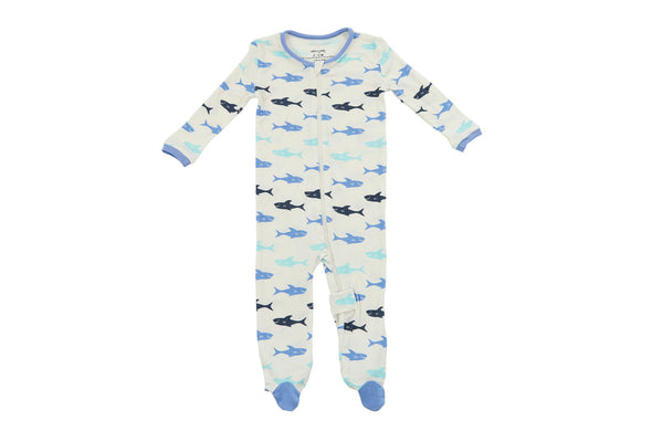 "SILKBERRY Baby Footie - ""Shark"""