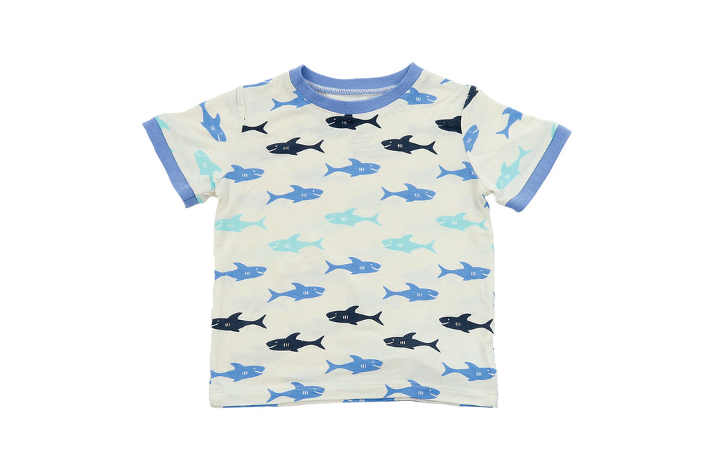 "SILKBERRY Boy Short Sleeve Tee - ""Shark"""