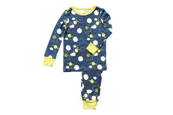 "SILKBERRY Baby PJs - ""Galaxy"""