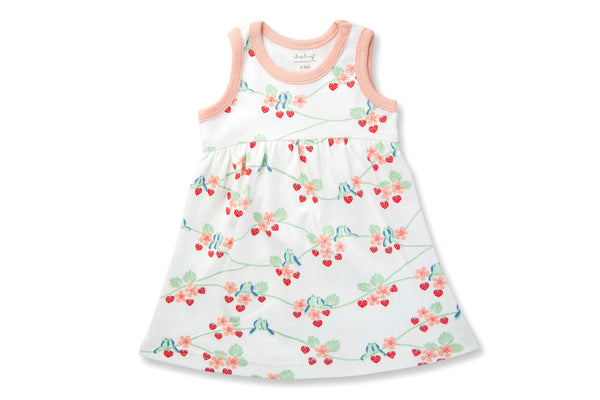 "SAPLING Baby Dress - ""Blue Birds"""
