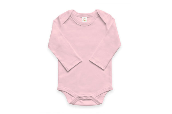 "COLORED ORGANICS Baby Long Sleeve Onesie - ""Blossom"""