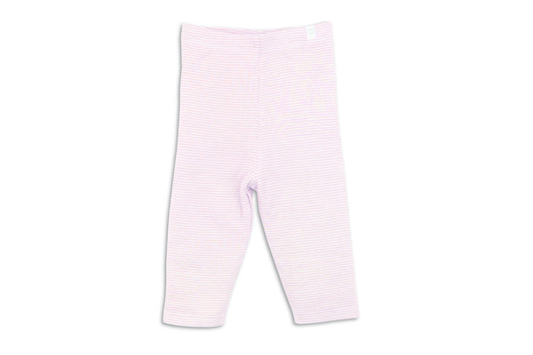 "MORI Baby Leggings - ""Blush Stripe"""