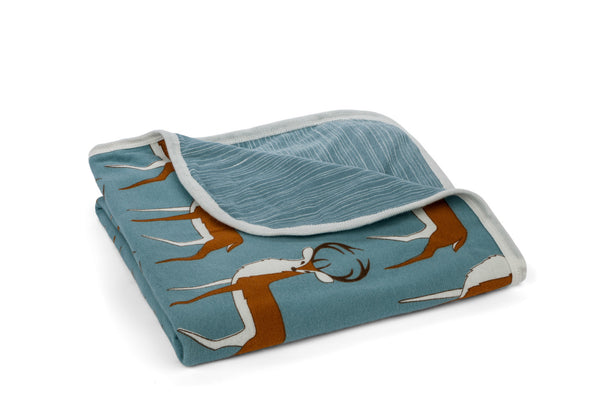 "MILKBARN Blanket - ""Blue Buck"""