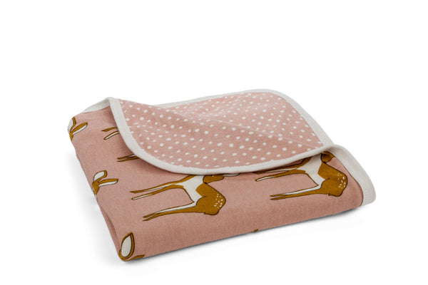 "MILKBARN Blanket - ""Rose Doe"""