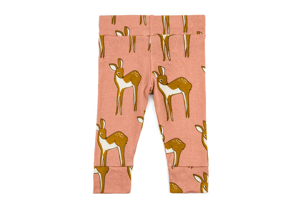 "MILKBARN Baby Leggings - ""Rose Doe"""
