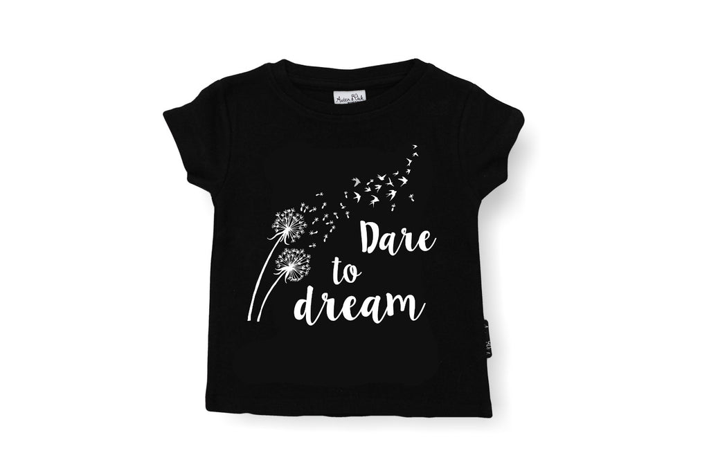 "ASTER&OAK Baby Tee - ""Dare to Dream"""