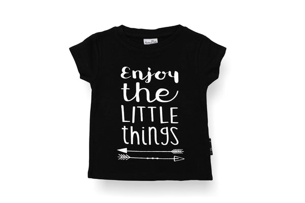 "ASTER&OAK Baby Tee - ""Enjoy the Little Things"""
