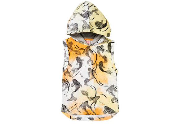 "BAOBAB Boy Sleeveless Hoodie - ""Fish"""