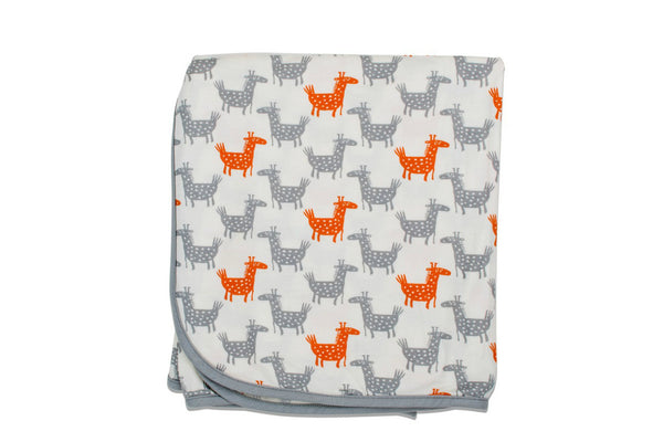 "BESTAROO Blanket - ""Orange Giraffes"""
