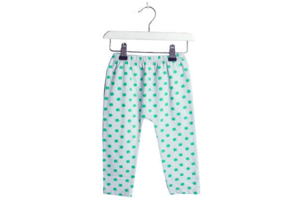 "BROKEN TRICYCLE Girl Leggings - ""Green Apple"""
