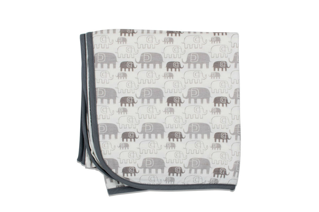 "BESTAROO Blanket - ""Grey Elephants"""