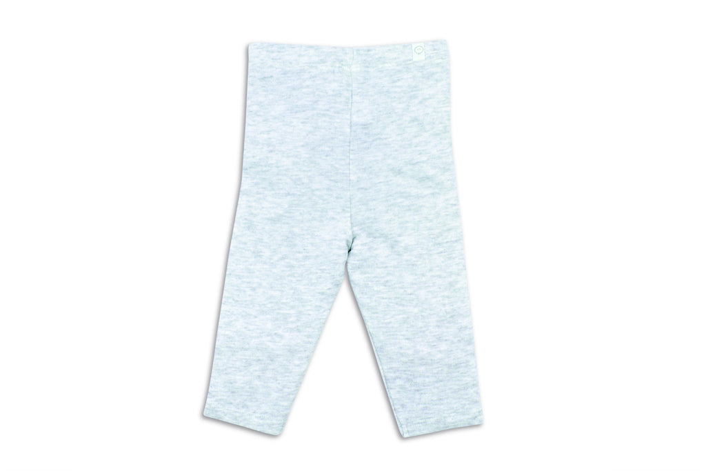 "MORI Baby Leggings - ""Grey Marl"""