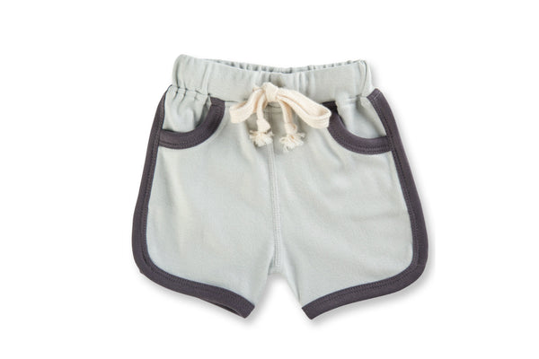 "SAPLING Baby Shorts - ""Dark Grey"""