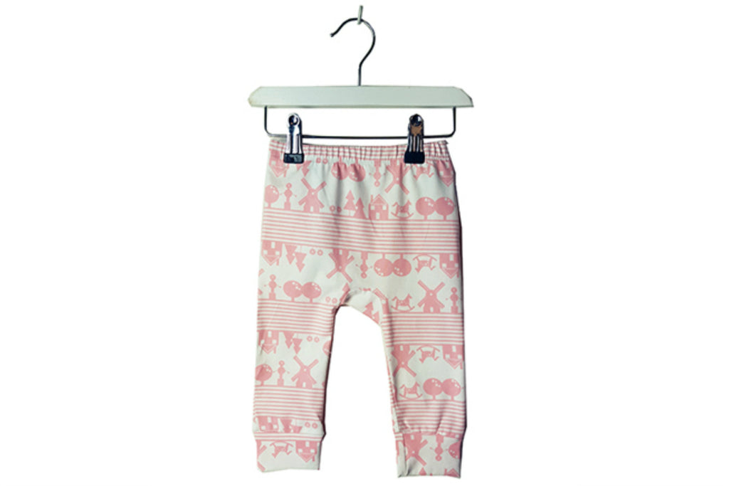 "BROKEN TRICYCLE Baby Leggings - ""Heidi"""