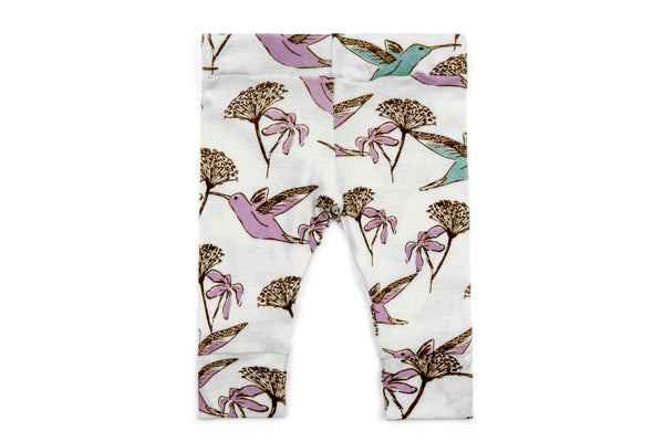 "MILKBARN Baby Leggings - ""Hummingbird"""