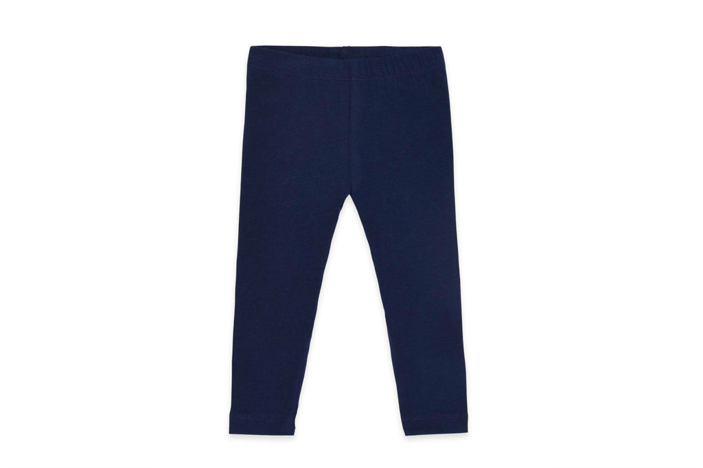 "COLORED ORGANICS Baby Tera Leggings - ""Navy"""