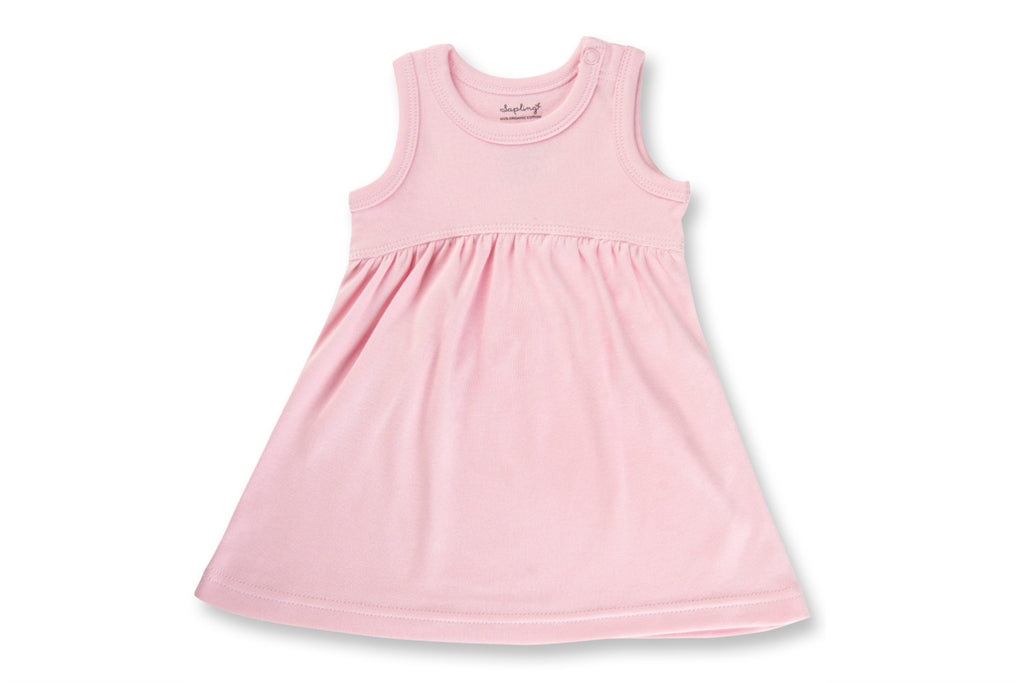 "SAPLING Baby Dress - ""Heather Pink"""