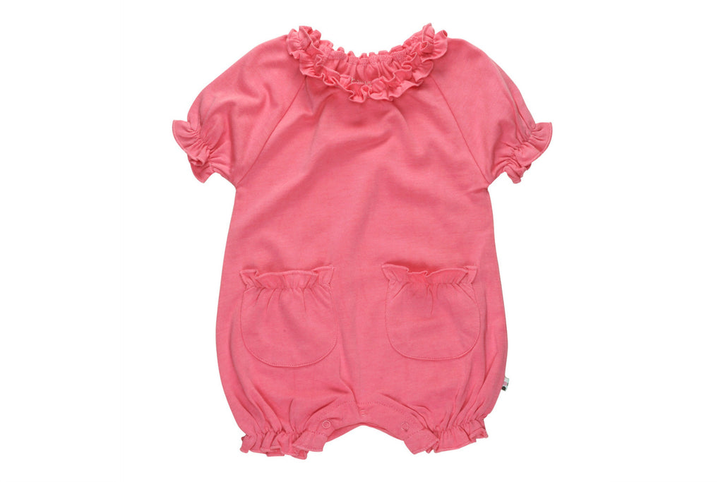 "BABYSOY Bubble Romper - ""Pink Lemonade"""