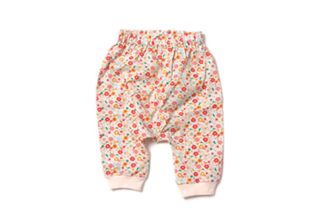 "LITTLE GREEN RADICALS Girl Jellybean Jogger - ""Secret Seahorse"""