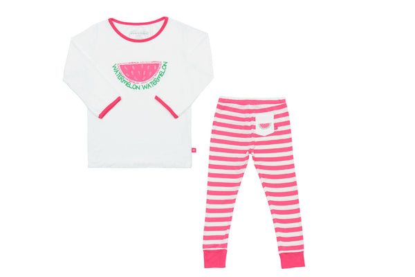 "SNUGALICIOUS Girl PJs - ""Watermelon"""