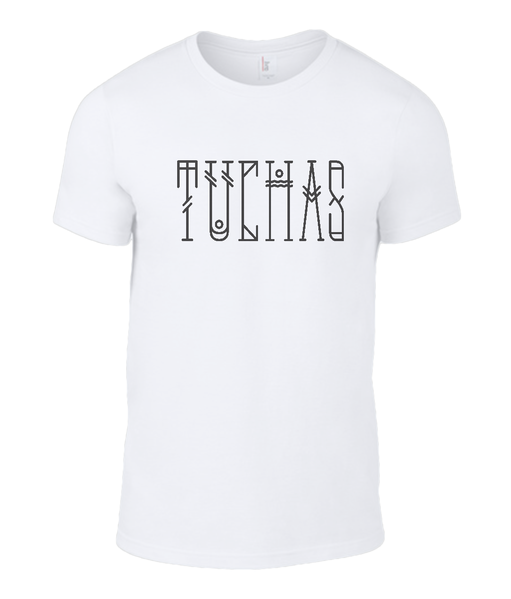 Round Neck T-Shirt - Tuchas - Lokshen Pudding UK - White