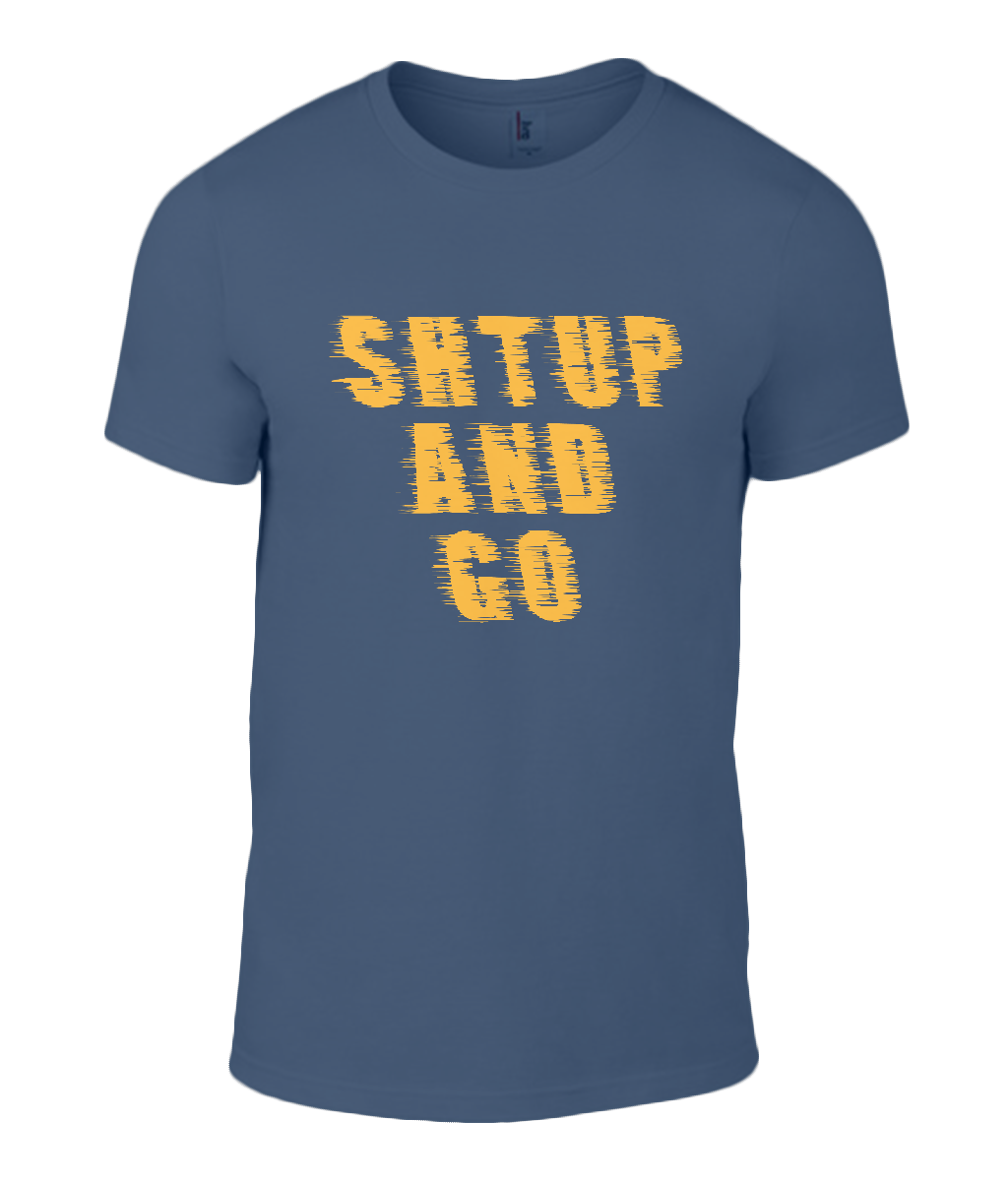 Round Neck T-Shirt - Shtup and Go