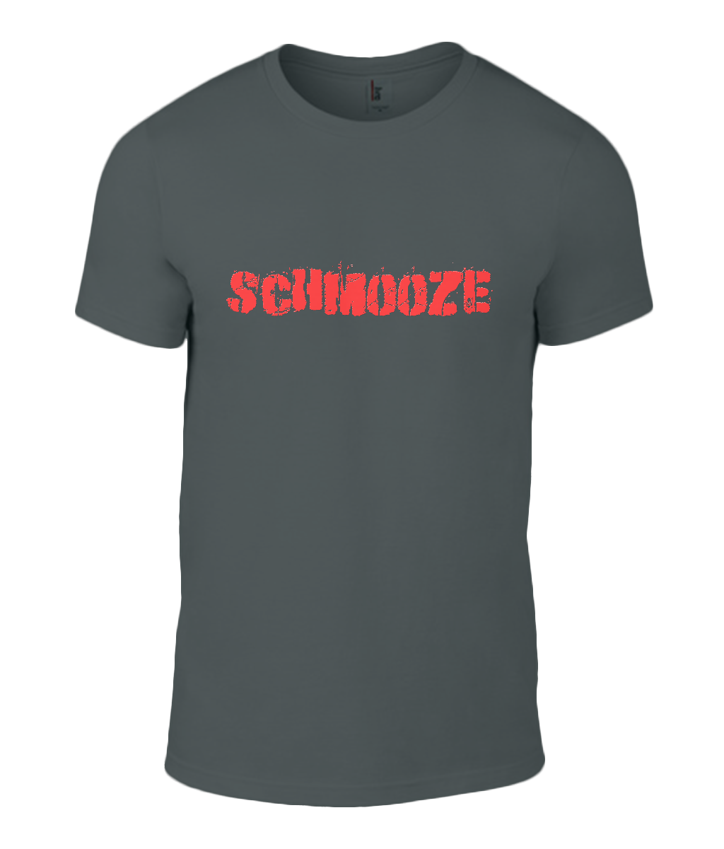 Round Neck T-Shirt - Schmooze - Lokshen Pudding UK - Black