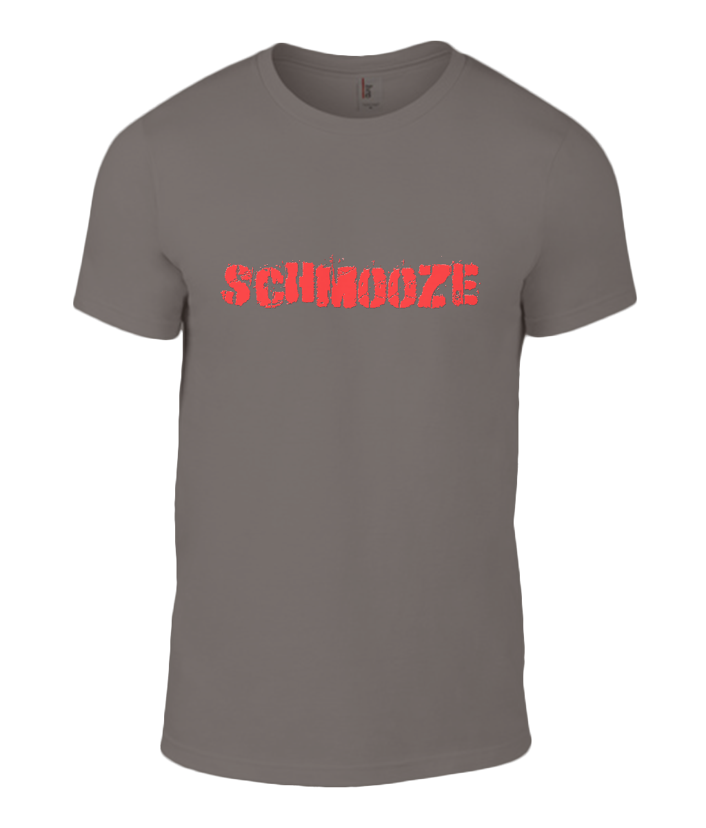 Round Neck T-Shirt - Schmooze - Lokshen Pudding UK - Brown