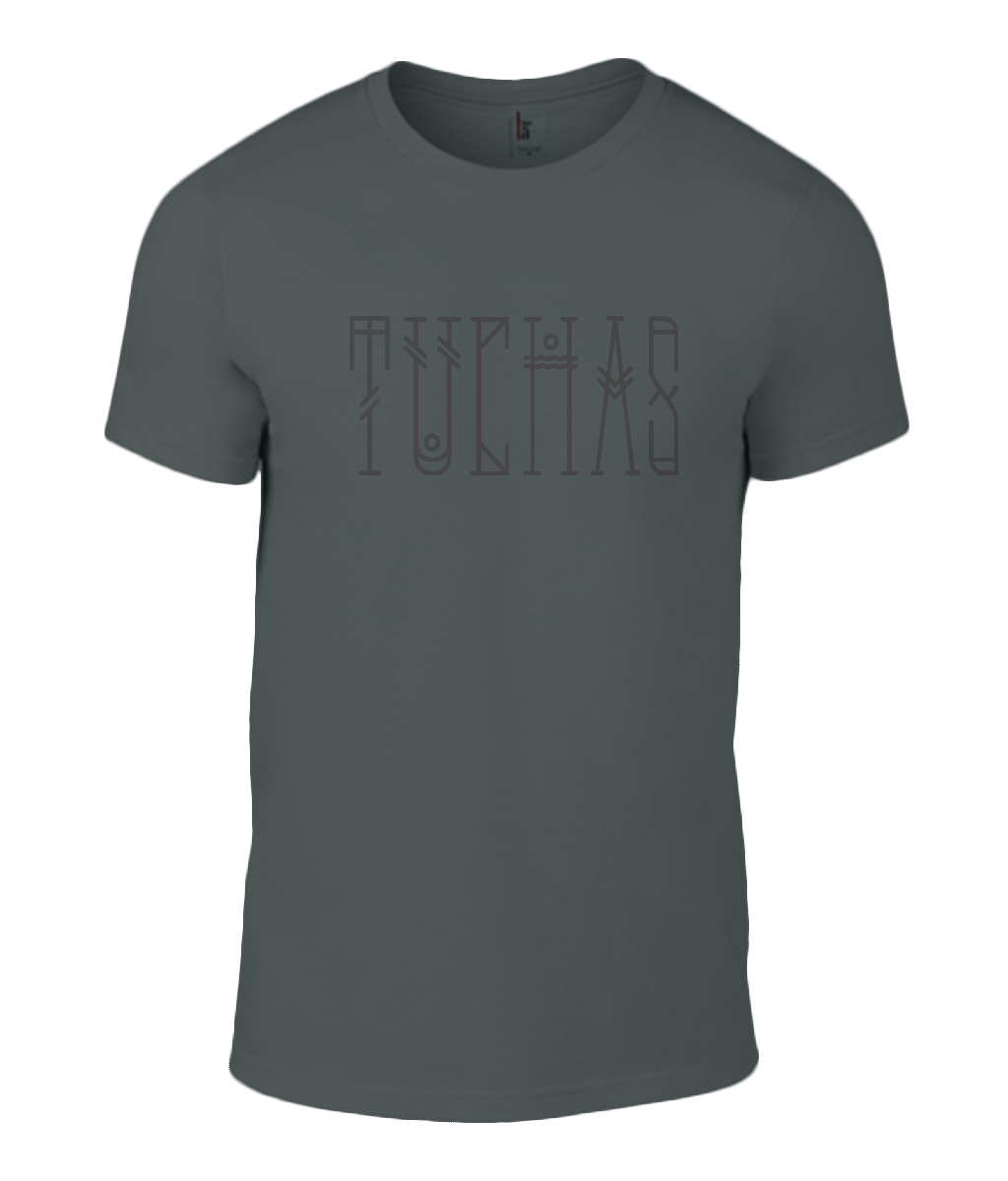 Round Neck T-Shirt - Tuchas - Lokshen Pudding UK - Black