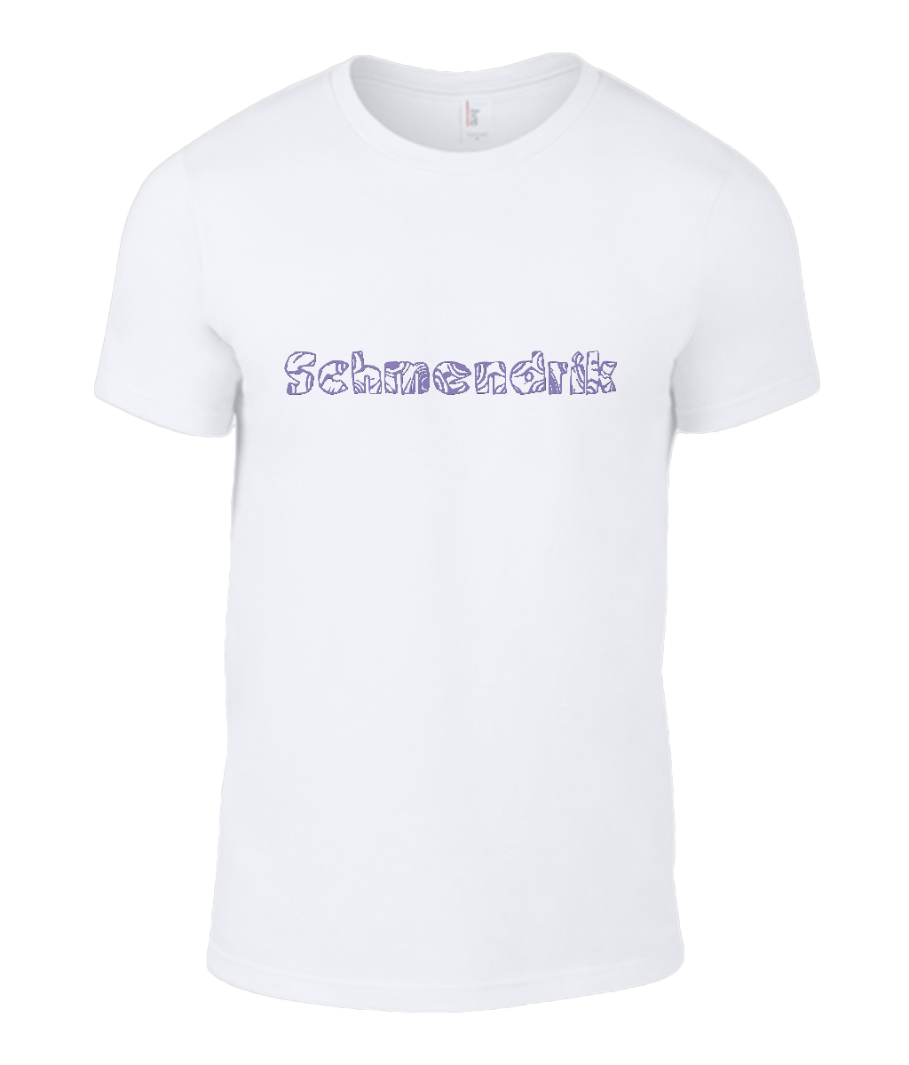 Round Neck T-Shirt - Schmendrick - Lokshen Pudding UK - White